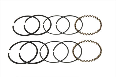 "74"" FLH Piston Ring Set, .010 Oversize"