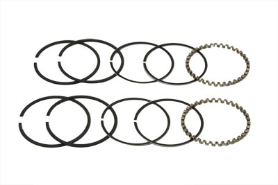 "3-1/2"" Evolution Piston Ring Set, .010 Oversize"