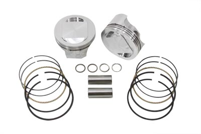 "107"" Twin Cam Forged Piston Set"