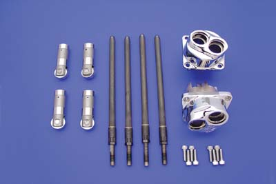 Solid Tappet and Pushrod Assembly