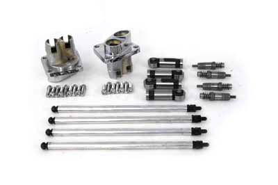 Hydraulic Tappet Block Kit Chrome Finish