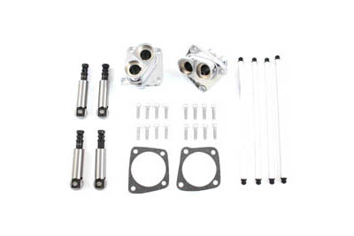 Solid Tappet Kit Chrome Finish