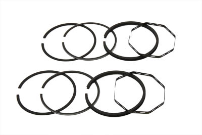 "74"" FLH Piston Ring Set .010 Oversize"