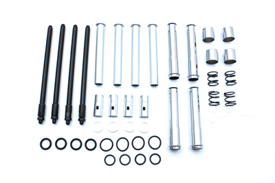 Adjustable Pushrod and Cover Kit