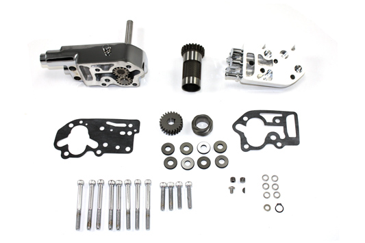 Chrome Oil Pump Assembly with Breather