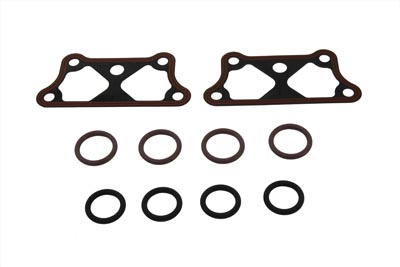 James Pushrod Tube and Tappet Base Gasket