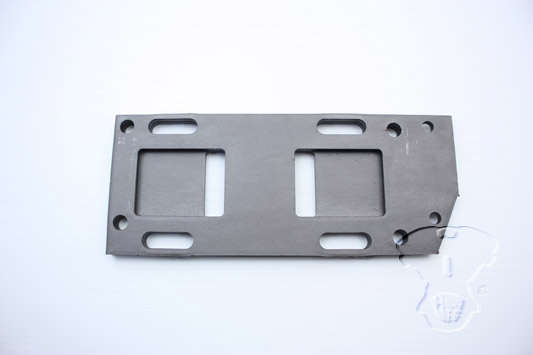 Replica Parkerized Transmission Mounting Plate
