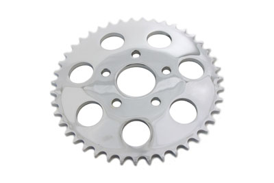 Rear Sprocket Chrome 46 Tooth