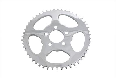 Rear Sprocket Flat Chrome 51 Tooth