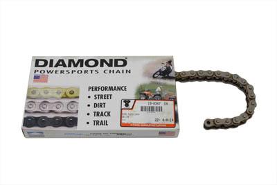.530 108 Link Chain Nickel Plated