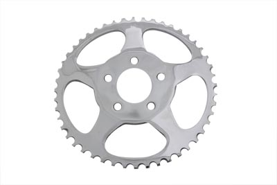 Rear Sprocket Chrome 48 Tooth