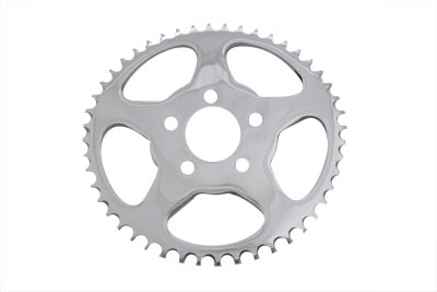 Rear Sprocket Flat Chrome 48 Tooth