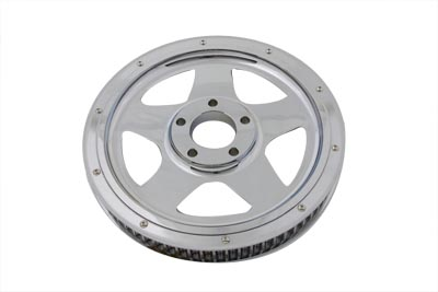 Chrome 70 Tooth Rear Drive Pulley