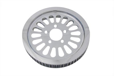 Rear Drive Pulley 61 Tooth Chrome