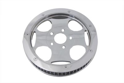 Chrome 65 Tooth Rear Drive Pulley
