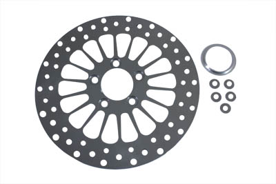 "11-1/2"" Front or Rear Brake Disc 18-Spoke Style"