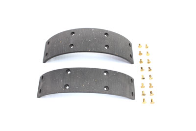 Rear Brake Shoe Lining with Rivets