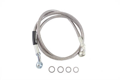 Stainless Steel Front Brake Hose 39-7/8""