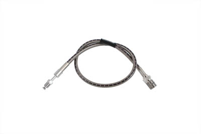 "Stainless Steel 24-5/8"" Rear Brake Hose"