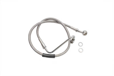Stainless Steel Upper Brake Hose 25""