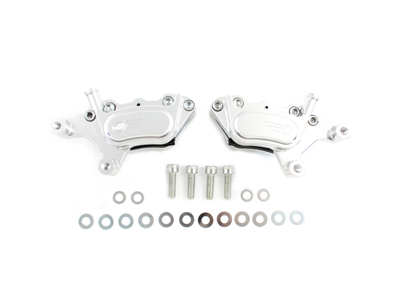 GMA Smooth Chrome Front 4 Piston Caliper
