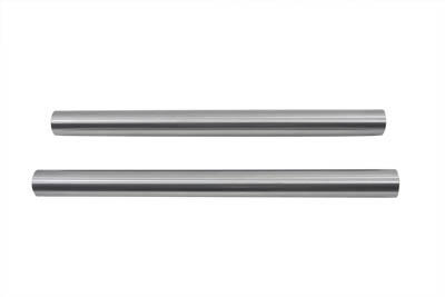 "Chrome 41mm Fork Tube Set 34-7/8"" Total Length"