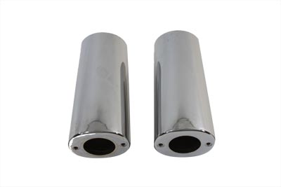 Fork Slider Chrome Cover Set