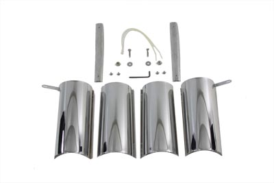 Chrome Upper Fork Covers