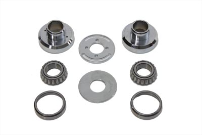Chrome Fork Stop Neck Cup Kit