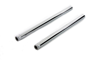 "Chrome 41mm Fork Tube Set 24-1/4"" Total Length"