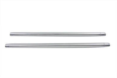 "Chrome 35mm Fork Tube Set 27-1/2"" Total Length"
