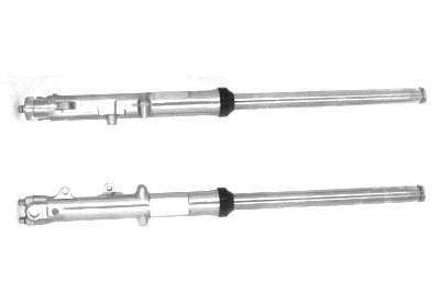 Dual Disc 35mm Fork Tube Assembly with Chrome Sliders