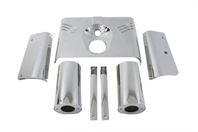 Chrome Fork Cover Kit
