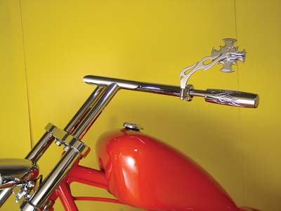 "11"" Flying V-Bar Handlebar with Indents"