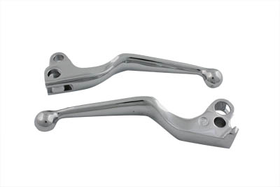 Hand Lever Set Chrome Wide