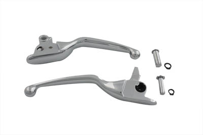 Contour Hand Lever Set Chrome