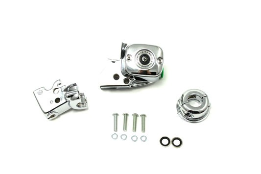 Chrome Handlebar Control Cover Kit