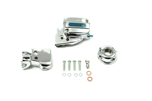 Handlebar Control Cover Kit Chrome