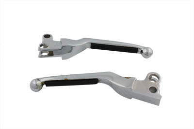 Chrome Soft Pad Hand Lever Set