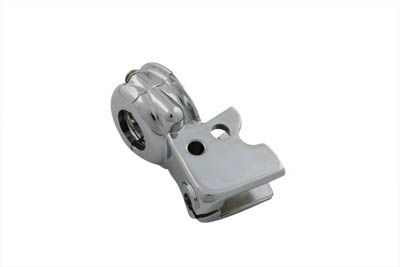 Clutch Hand Lever Bracket with Clamp Chrome