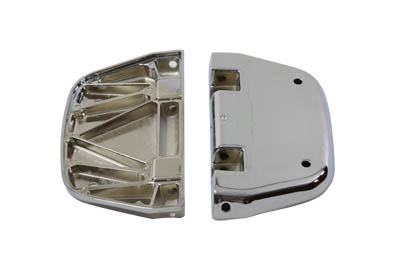 Chrome Passenger Footboard Set