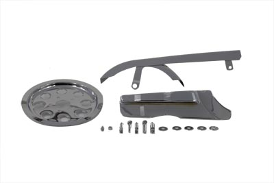 Chrome Belt Guard and Pulley Cover Kit
