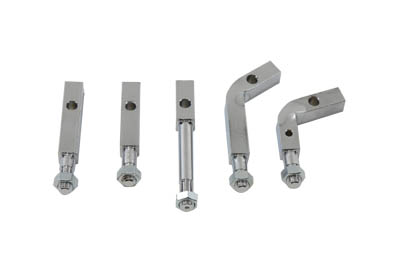 Footboard Mount Bracket Kit Chrome