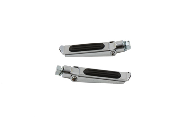 Caddy Footpeg Set Chrome