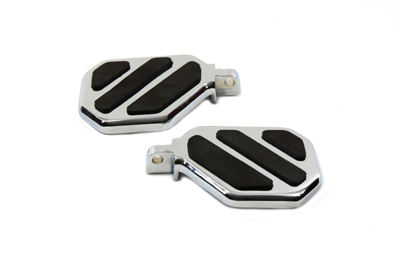 Mini Passenger Footboard Set with 3 Pad Design