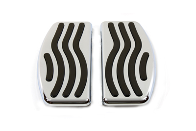 Driver Footboard Set with Wave Design
