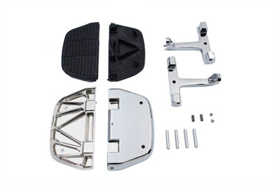 Passenger Footboard Set Chrome