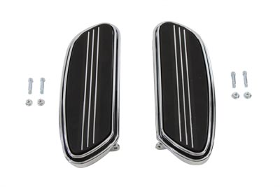 Driver Chrome Footboard Set