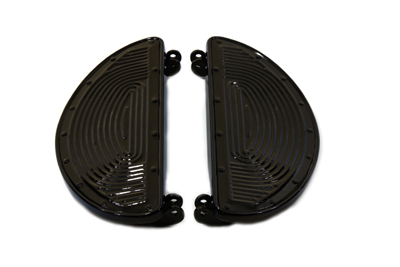Replica Driver Black Footboard Set