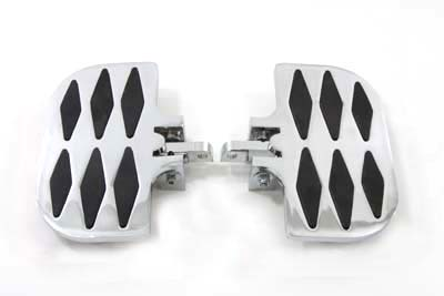 Passenger Mini Footboard Set with Diamond Design